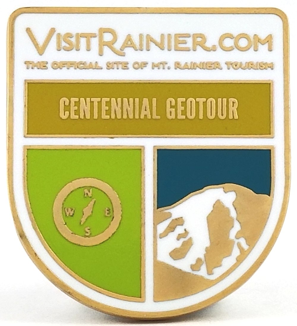 Visit Rainier GeoTour Coin Award