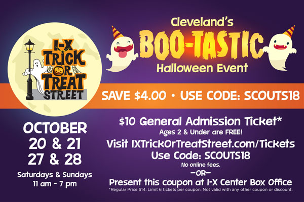 Boo-Tastic at the I-X Center — Lake Erie Council