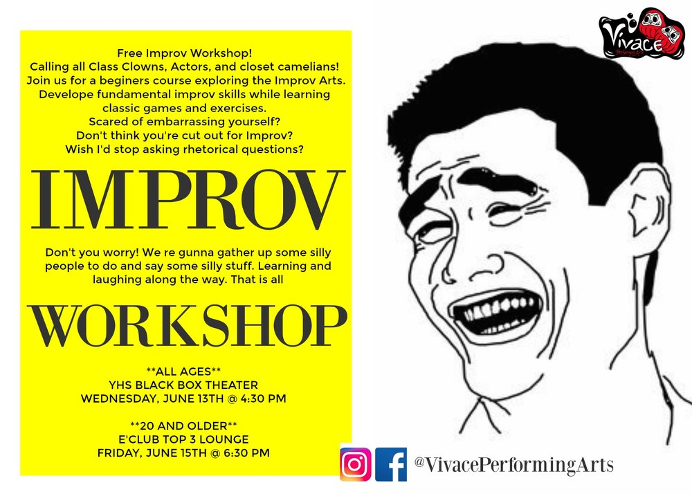 Improv Facebook Event Page