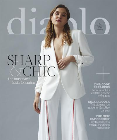 Diablo Magazine, 03/18 cover, styling by Jeneffer Jones