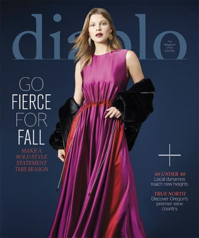 Diablo Magazine, 09/18 cover, styling by Jeneffer Jones
