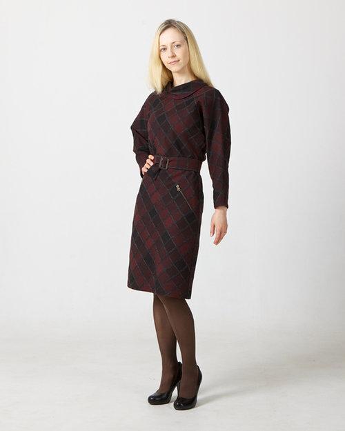 Платье в деловом стиле для Байбы