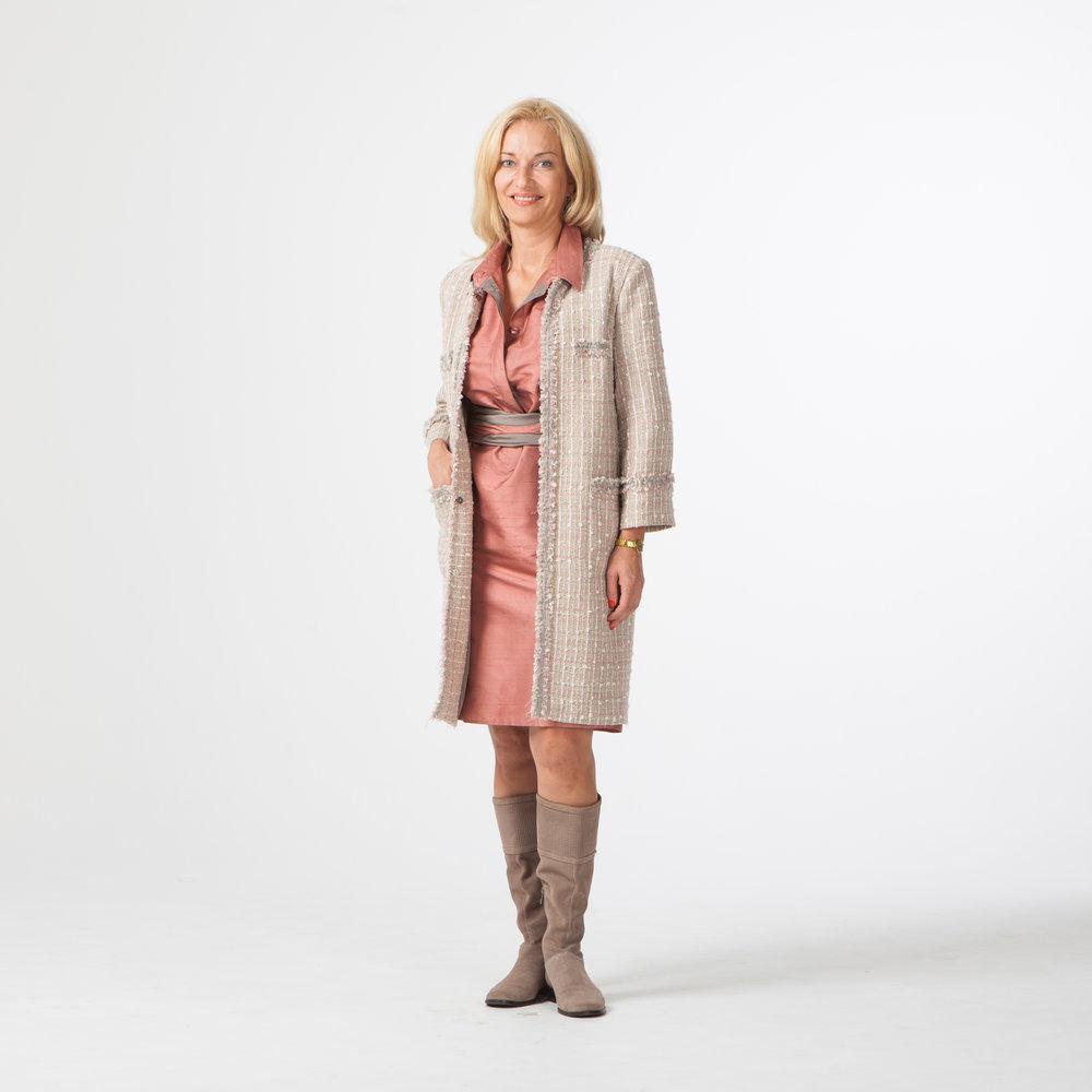 Пальто в стиле Chanel для Агиты.