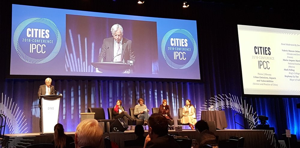 """Cities and Climate Change Science Conference"", Edmonton, Canada, March 2018"