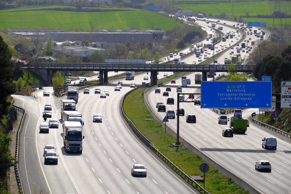 The Spanish highway network (c) Shutterstock