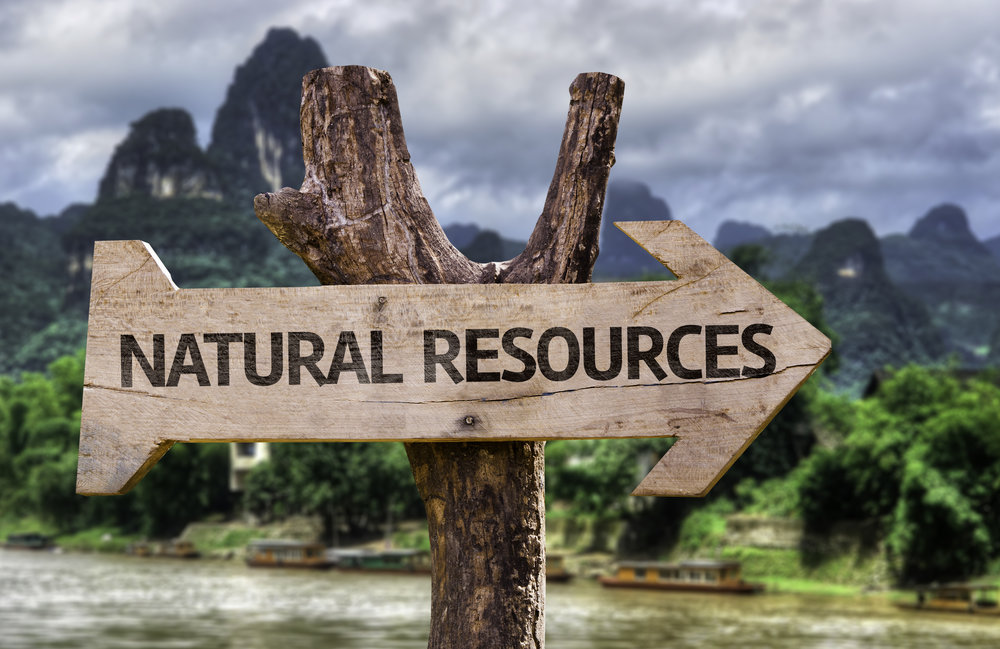 Natural Resources are not endless, even if we think that (c) Shutterstock