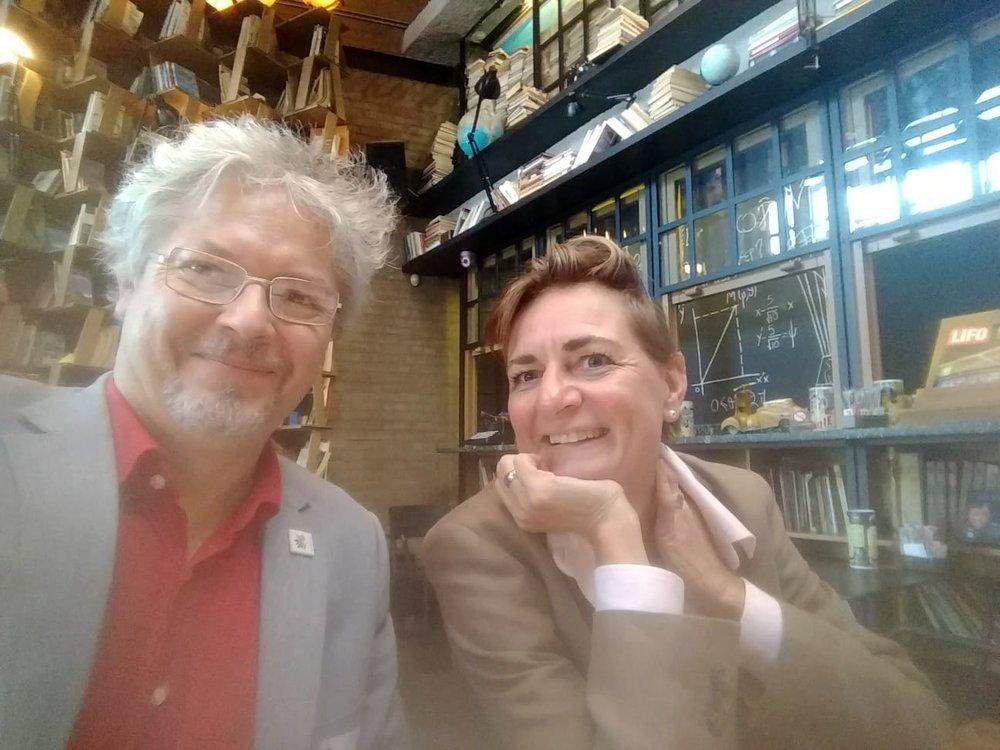 Denis Havlik (AIT) and Andrea Geyer-Scholz (My Climate Service)