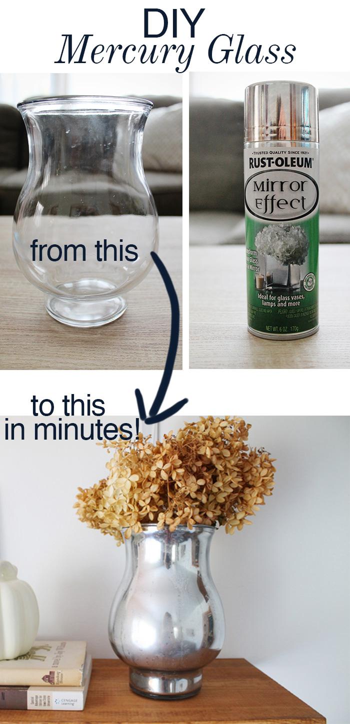 DIY Mercury Glass Vase — Amanda Katherine