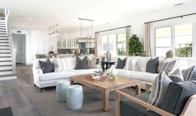 calming neutral living room