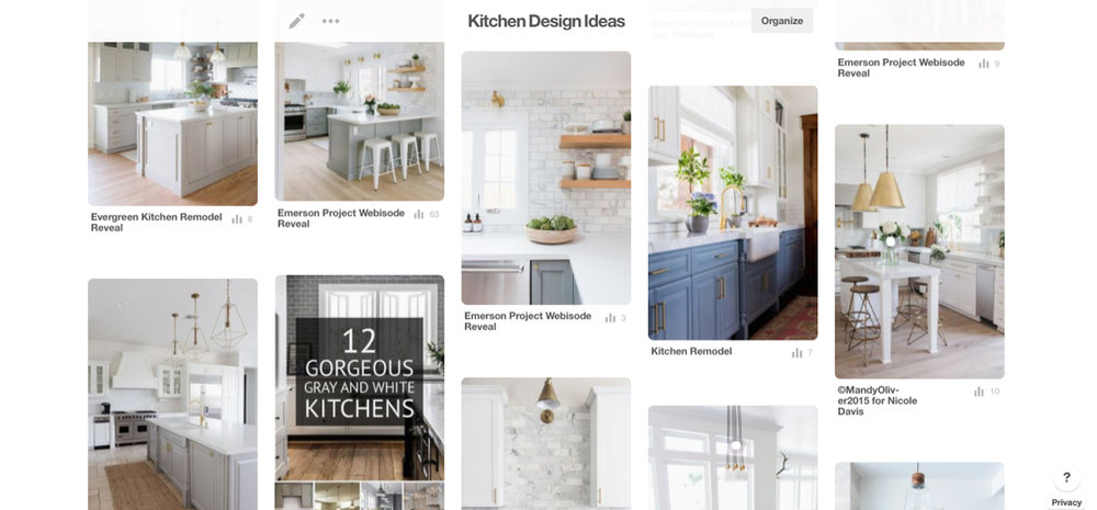 kitchen design inspiration pinterest board