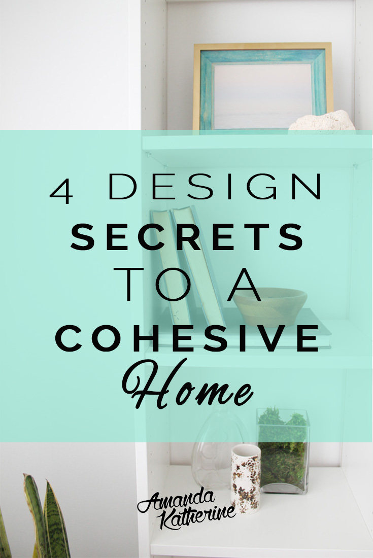 Ever wondered how the pros make cohesive rooms flow perfectly into each other? Now you'll know! Here are 4 design secrets to creating a cohesive home that flow