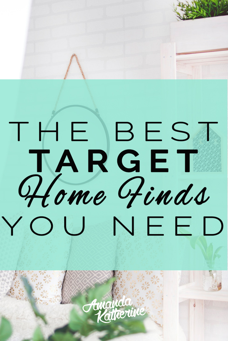 Love shopping at Target? Me too! I've rounded up the best Target home decor buys I can't live without.