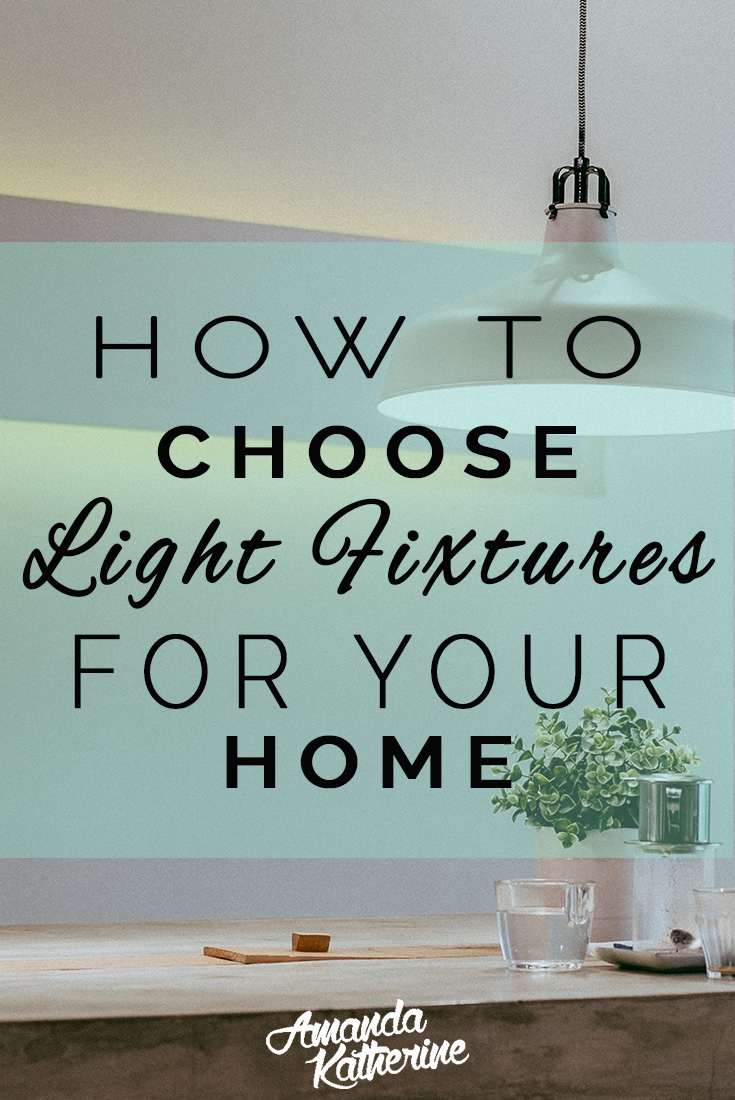 Your guide to help you choose the right light fixture sizes and style for your home. Overwhelmed with the daunting task of picking out new lighting for your living room or kitchen? There are a few tips to keep in mind that will ensure you pick the right light fixture for your space. Click to read the full post.