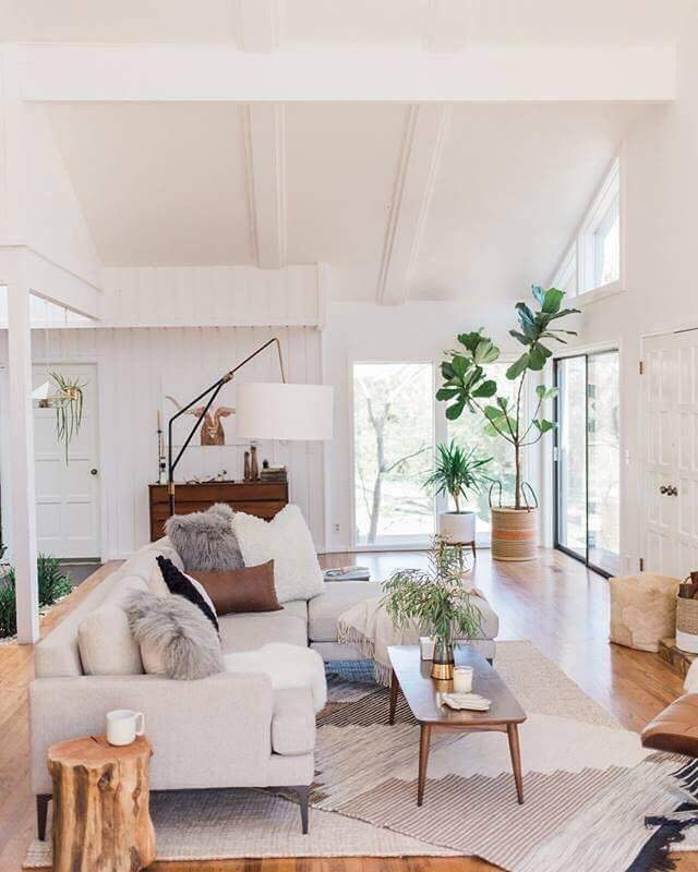 inspiration boho living room