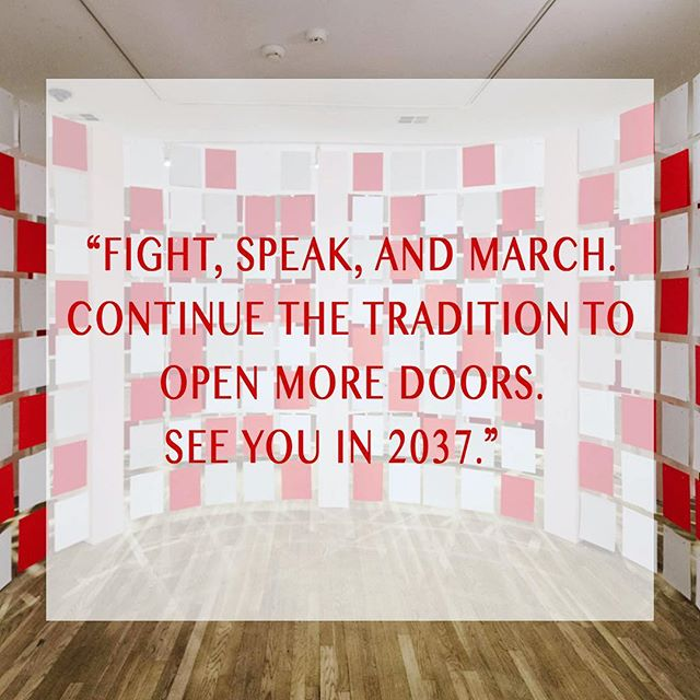 3 more days before the time capsule closes! We are eagerly awaiting your letters! 💌 Send to: To Future Women Georgia Saxelby c/o The Phillips Collection 1600 21st Street, NW Washington, DC 20009 . . Pictured: Quote from a TFW letter submitted by a 34 year old woman, Denver CO