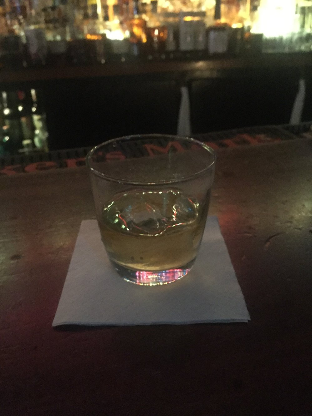 David Nicholson bourbon at Delilah's