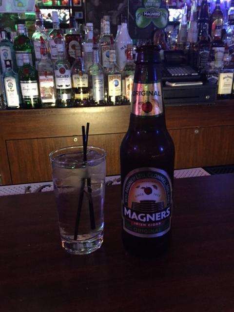 Magner's Cider at Desmond's