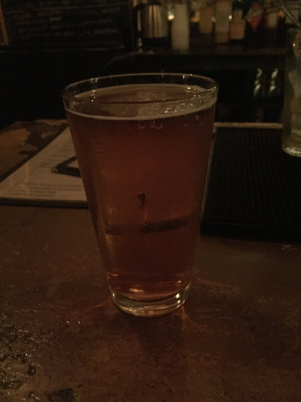 A pale ale at Burnside