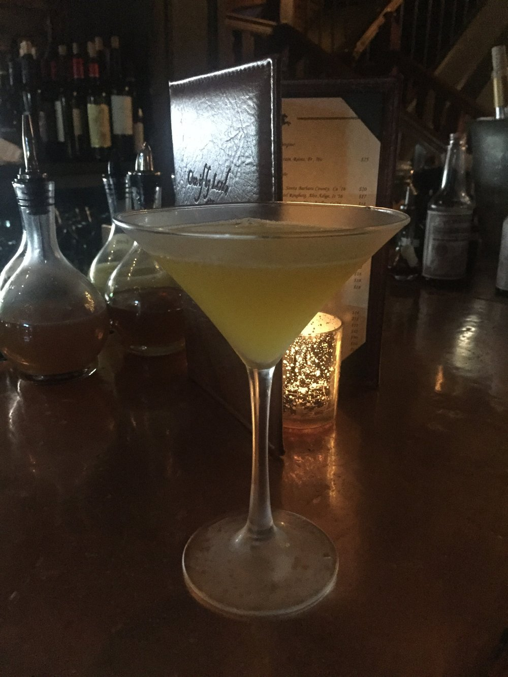 Noble Martini at One if by Land, Two if by Sea