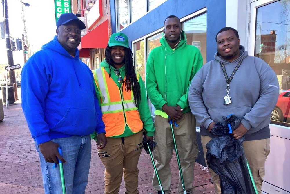 Anacostia BID Clean Team