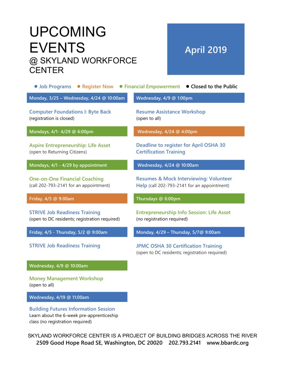 April 2019 Upcoming Events Calendar 04.2019.png