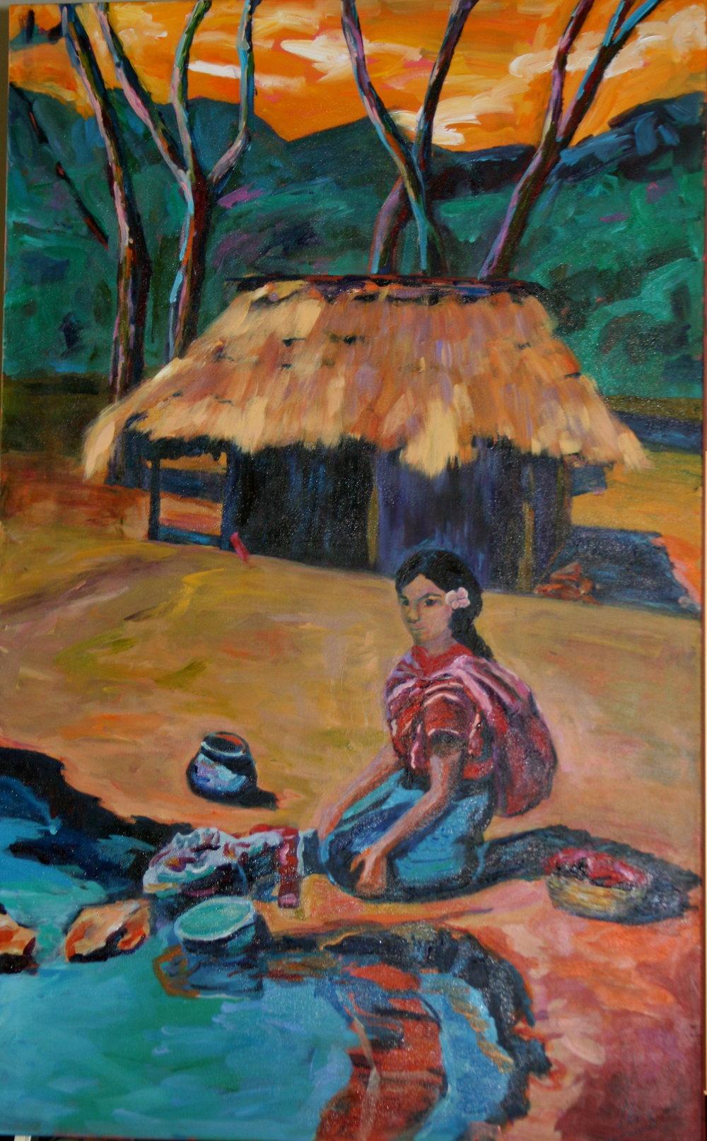 Mayan Woman Washing Clothes.jpg