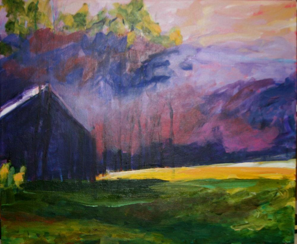 Purple House on th eLake Study of Wolof Kahn.jpg