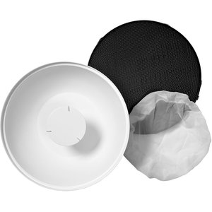 "Profoto Softlight Reflector White Kit - Reflector, Honeycomb Grid and Diffuser (Beauty Dish) - 20.5"".jpg"