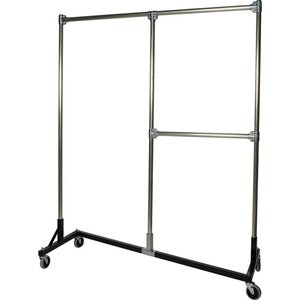 Heavy Duty Z-Rack 6 ft. Split Rail Garment Rack.jpg