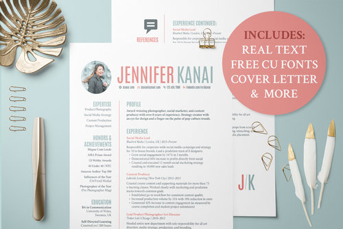 Resume and Cover Letter Template — Khara Plicanic