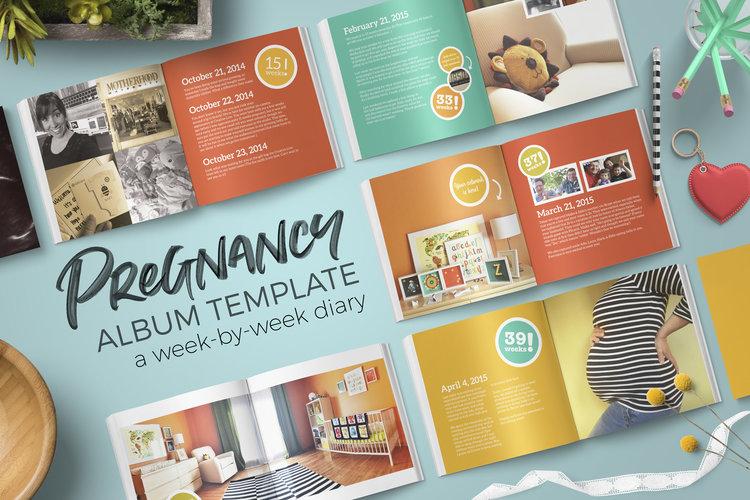 Pregnancy Album and Diary Template — Khara Plicanic