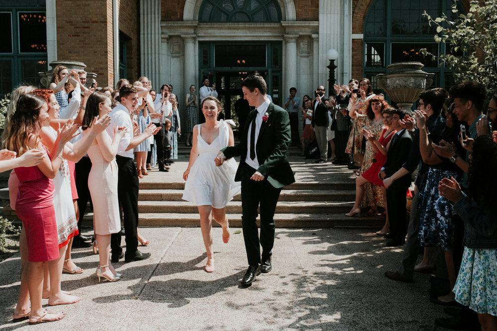 wedding getaway