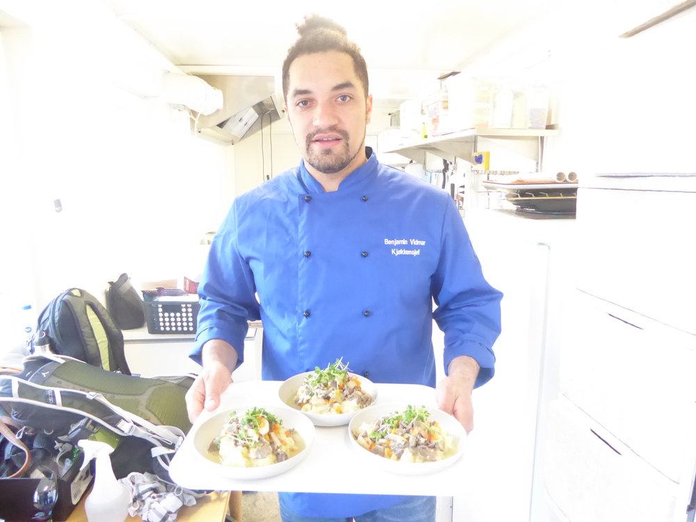 Arctic Farm to table. - Let Chef Ben, and his team help you experience the freshest food in Longyearbyen!