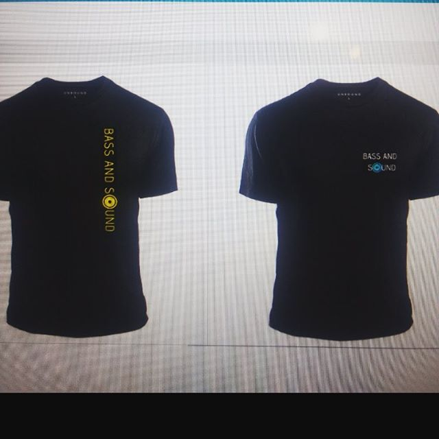 Okay Bass and Sound followers, we need your advice. Which of the two shirts do you think is better? Please comment below!