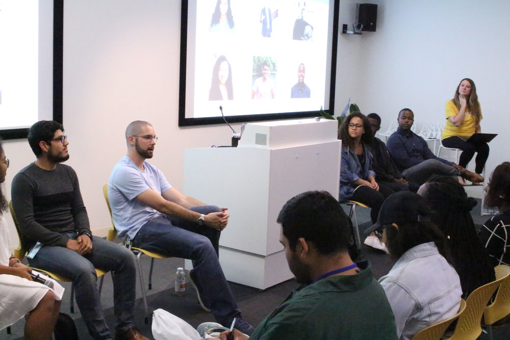 During a panel of former and current BOLD Interns, Scott spoke about how he incorporates 10x thinking into his work every day as a Product Marketing Manager at Google.