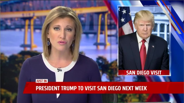 President Donald Trump is making his first trip to California since taking office, stopping in San Diego to tour border wall prototypes on March 13 in a visit that's expected to prompt protests.  @FOX5