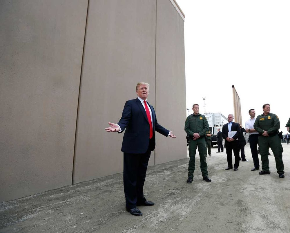 Eight prototype designs of President Donald Trump's proposed wall along the U.S.-Mexico border will be demolished in San Diego, U.S. Customs and Border Protection confirmed Friday.  The border-security agency has not released details about its timeline for the demolition, but construction crews have begun work in the area to replace wire-mesh secondary fencing with taller, 30-foot-tall bollards. @  AZCentral