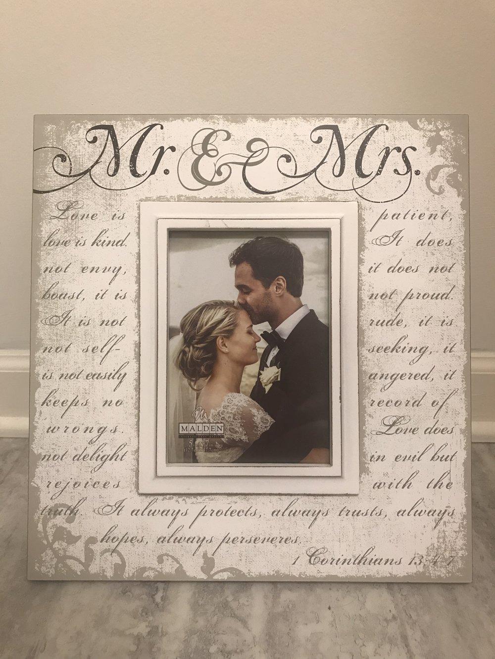 Mr. & Mrs. Frame