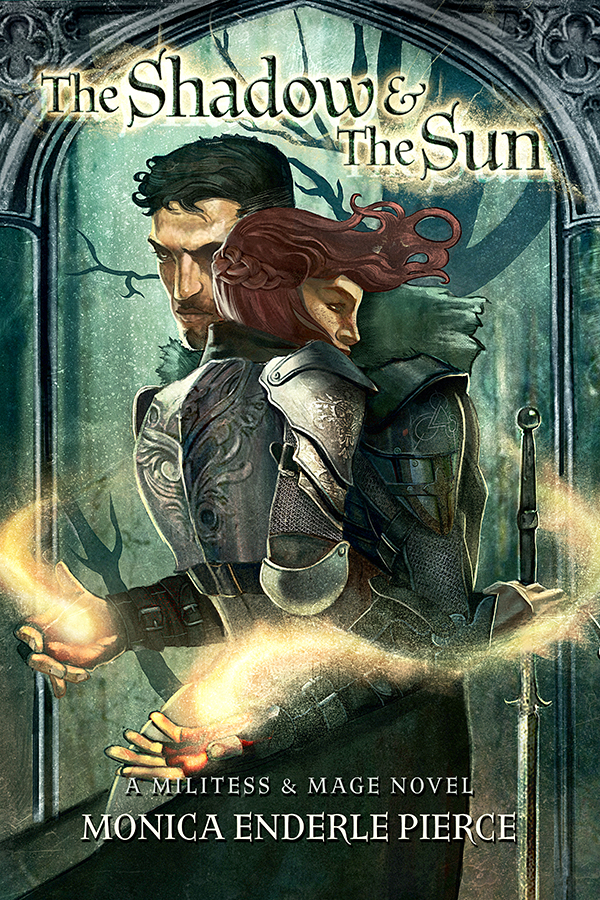 - Among the living or the dead, he's never needed anything from anyone.Shadow Mage Gethen is a powerful necromancer, keeper of the border between the living and the dead, and brother to the king of Besera. But with his dark powers failing and a vengeful entity attacking, Gethen should be happy when a formidable lady knight appears at his gates. He's not. The price for her aid is steep—his allegiance in a war against his brother.In battle or in bed, she's never met a man she considered her match.Militess Halina is undaunted by the threat of war between her country and neighboring Besera. She earned her titles by shedding blood and breaking bones. She uses her body to reward soldiers who serve her loyally, and to punish those who don't. And Halina's never met a man she couldn't command or crush.Until now.Passion and power unexpectedly ignite when a blizzard traps Halina at Gethen's citadel. With the evil entity's onslaughts rapidly deteriorating Gethen's sorcery, they have little time to understand their unexpected attraction. But could their passion be the key to defeating an ancient enemy that's hell-bent on obliterating their world?
