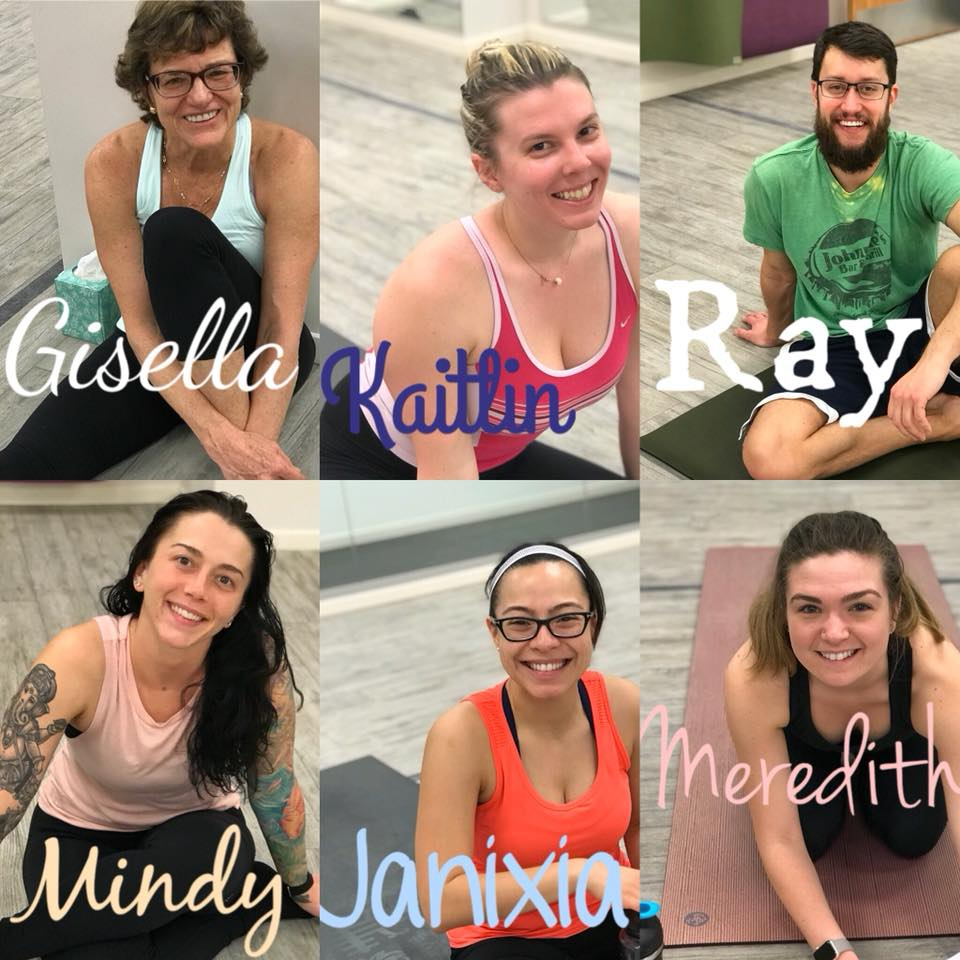 The Yoga Sculpt Team!!