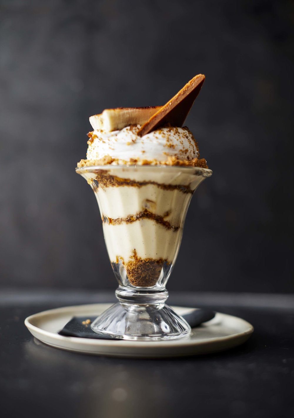 The Makeready Libations & Liberation Lemon Tart features a pistachio crust, hibiscus, meringue, and Coconut sorbet.