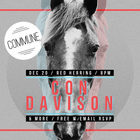 Playing a rad show at the red herring this Wednesday with @connordavison and The Adjustments! 8 pm / Free! See ya there!! 🍻🎉