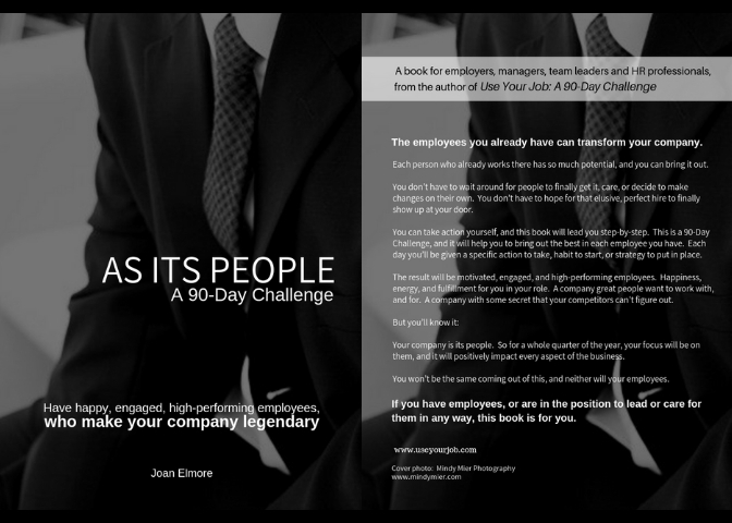 Your company is its people. - Make them your focus for the next quarter:
