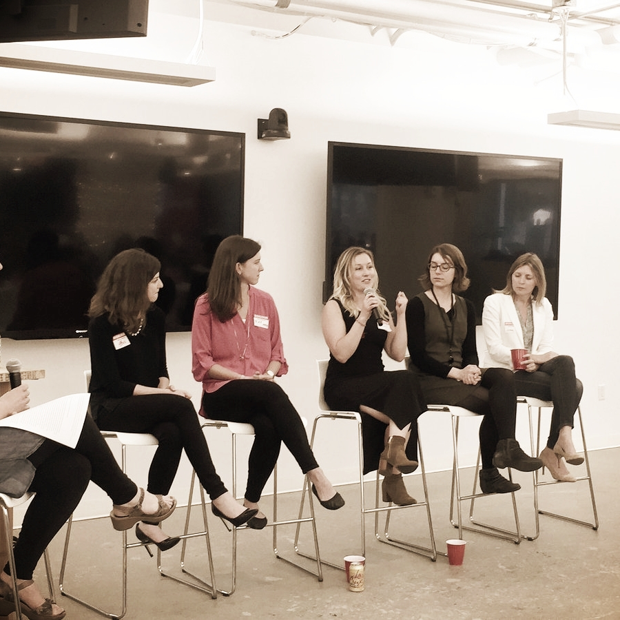 Career Transitions (Panelist) - 04/25/17 Women Entering & Staying in Tech