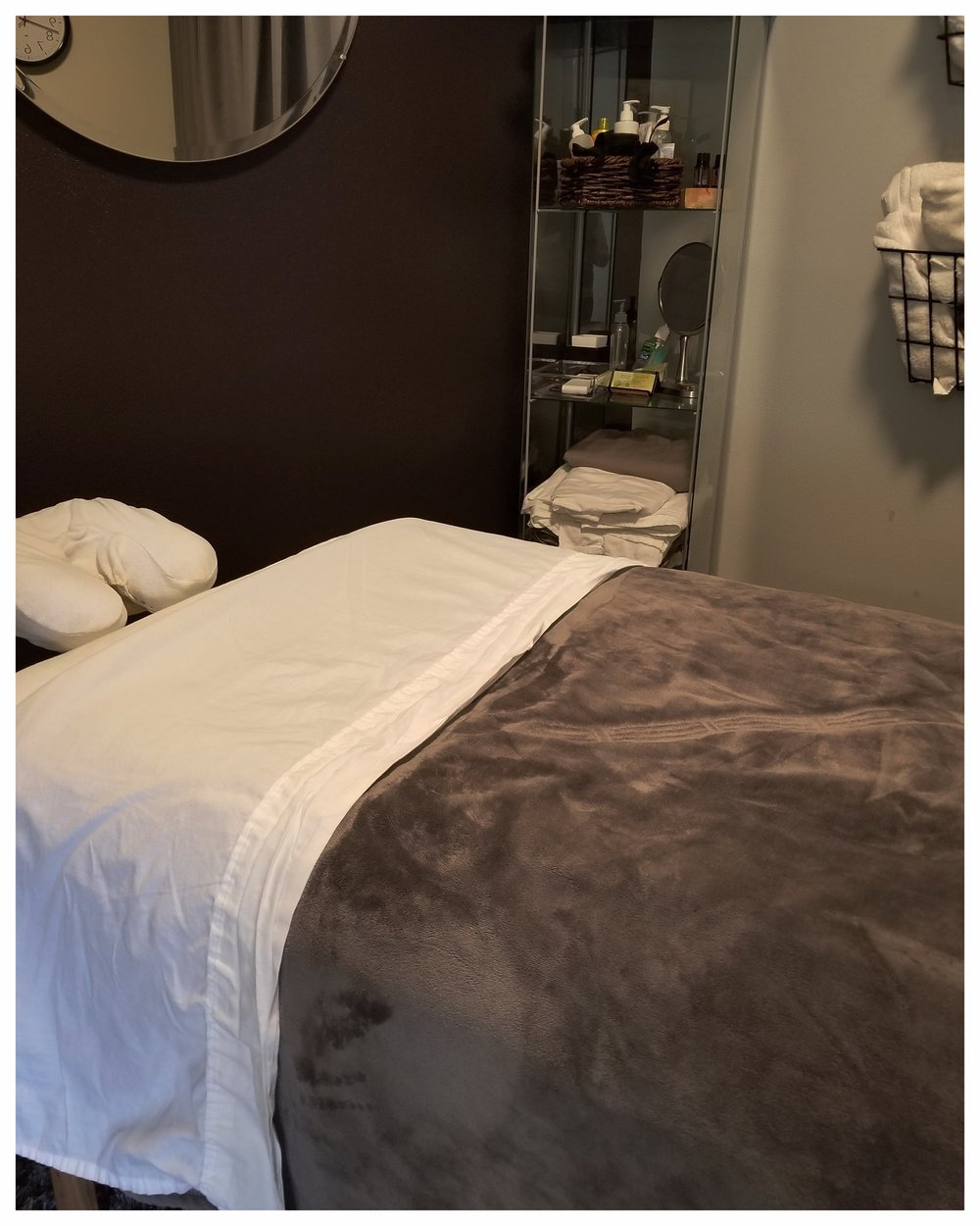 relax.Recharge. - Massage options available: Swedish, Deep Tissue, and Therapeutic.    *Complimentary Pure Grade Essential Oils with your Massage.Ask us about our New Client Specials!