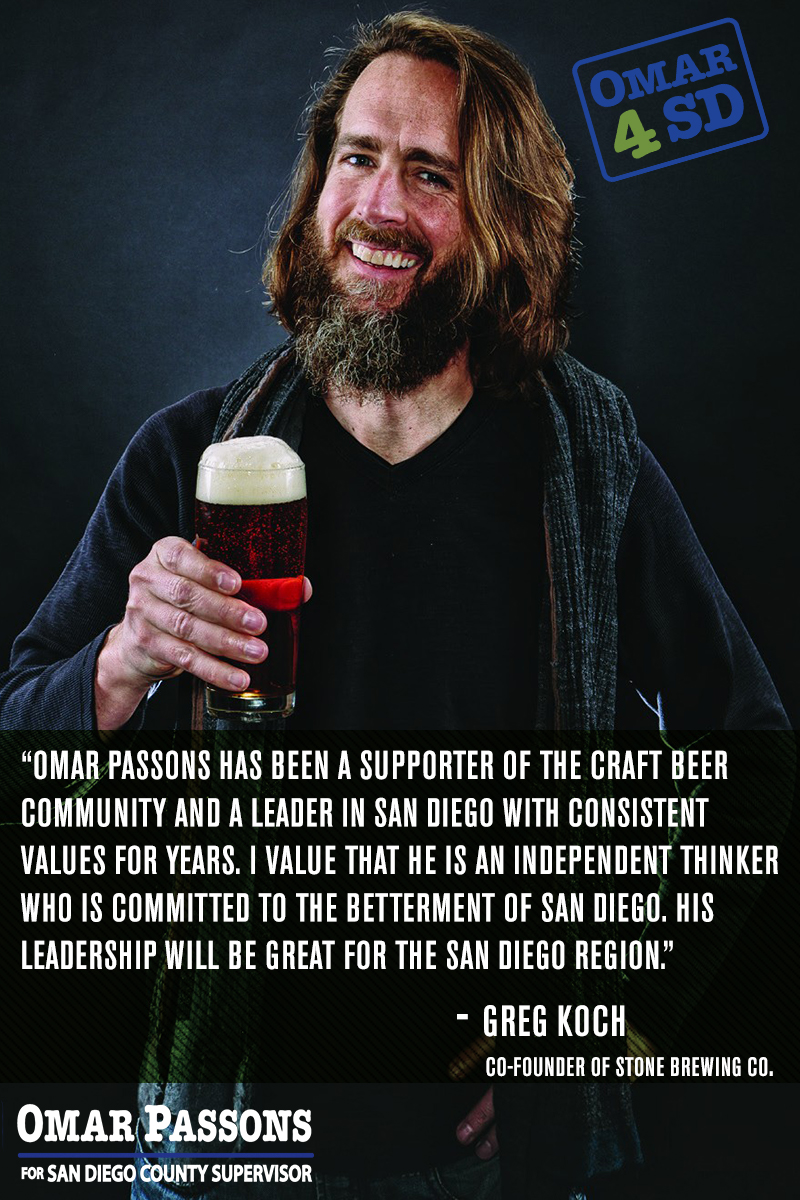 Leaders in the Independent Craft Beer world like Greg Koch have endorsed our campaign!