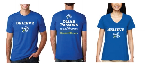 Click the image,  donate $25 , and we'll get your campaign tee to you!
