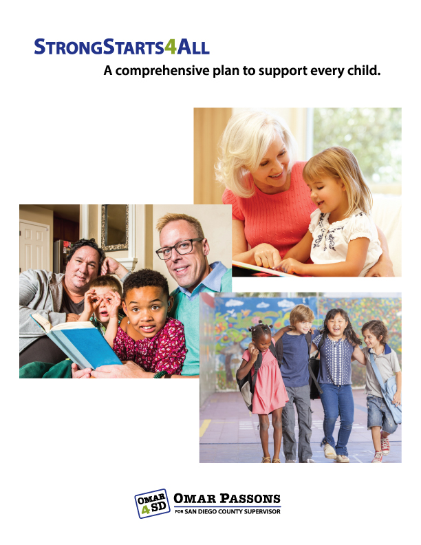 Passons' campaign is the only one to release a comprehensive plan to support every child from birth to adulthood. Read   StrongStarts4All