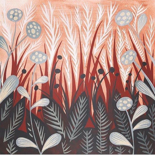 Jacqui Langeland   @jacquilangeland —— #womenwithpencils #illustration #illustrationoftheday #illustratorsoninstagram #art #artistsoninstagram  #drawing #painting  #visiblewomen #womenartists #plants #flowers