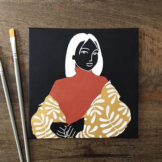 Sarah   @sara_ccroche —— #womenwithpencils #illustration #illustrationoftheday #illustratorsoninstagram #art #artistsoninstagram  #drawing #painting  #visiblewomen #womenartists